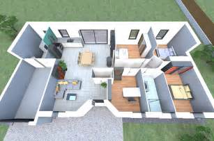 plan 3d d un de nos mod 232 les de maison avec 4 chambres un