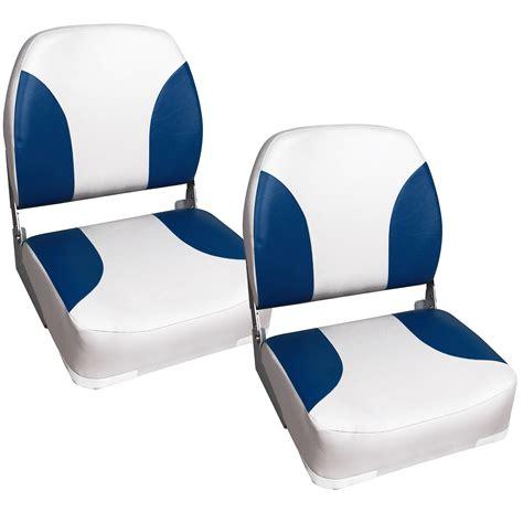 chaise de bateau 2x siège de bateau chaise de bateau siège de pilotage bleu