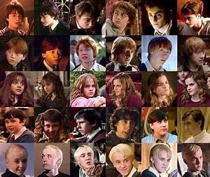 Harry Potter cast through the years. | Harry Potter ...