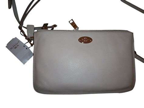 Coach Dbgscs F53157 Lyla Chalk Pb Leather Convertible