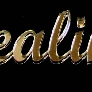 hand crafted bronze acrylic mirror letters in script by With mirror acrylic letters
