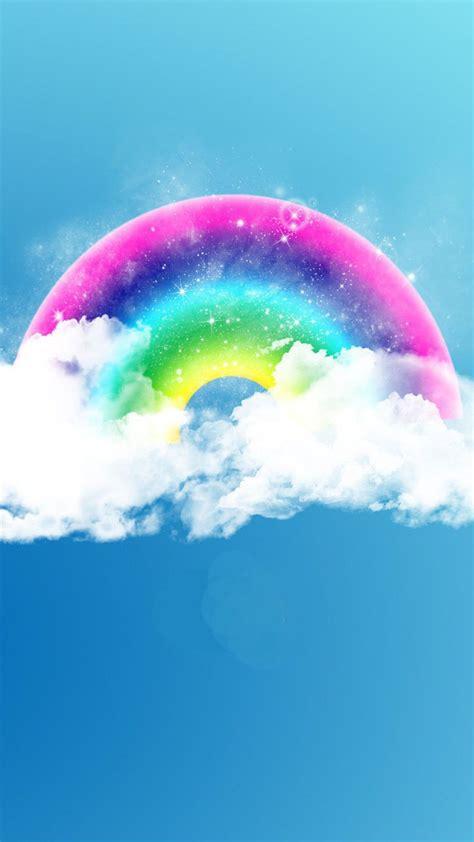 fantasy rainbow  wallpaper iphone wallpaper