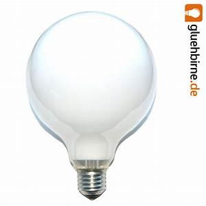 Glühbirne 40 Watt : 1 x globe gl hbirne 40w e27 opal g120 125mm globelampe 40 watt g ~ Frokenaadalensverden.com Haus und Dekorationen