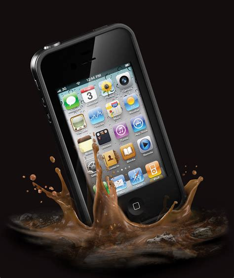 iphone lifeproof lifeproof iphone 4 water sand drop proof apple