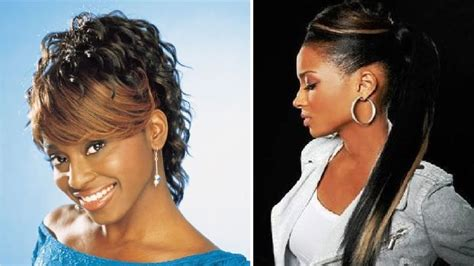 Ponytail Hairstyles For Black Woman