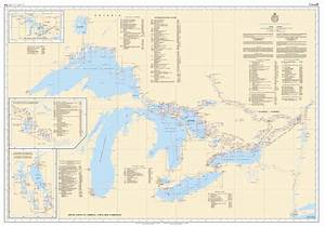 Great Lakes Charts The Nautical Mind