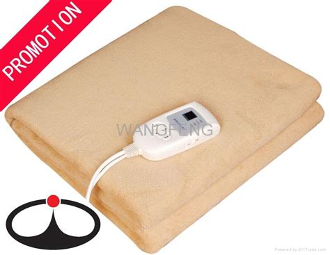 Automatic Shut Off Electric Heating Blanket