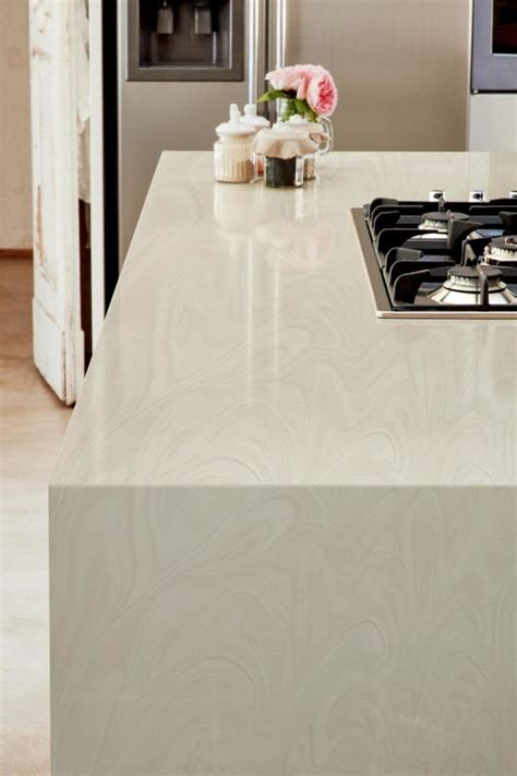 Corian Marble Effect by White Onyx Corian Kitchen Worktops With Slab Ends White