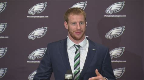 carson wentz philadelphia press conference youtube