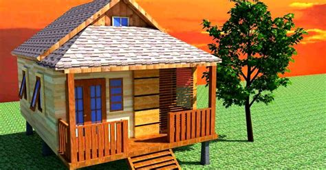 gambar rumah kayu gallery taman minimalis