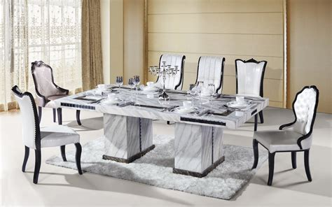 marble breakfast table sets 8 seater rectangle marble dining table from ntuple