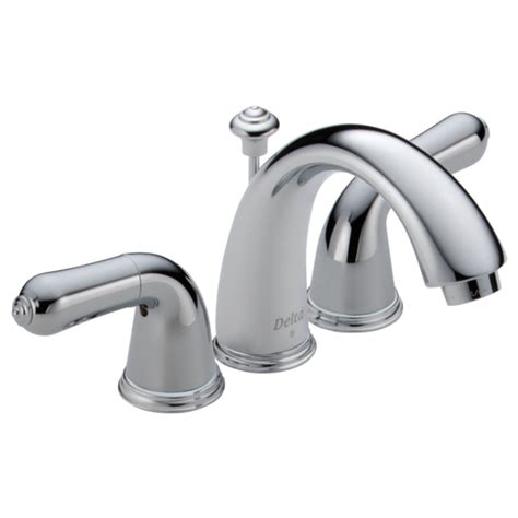 handle mini widespread lavatory faucet   delta