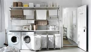 Ikea Regal Weiß Metall : waschk che mit algot kombination aus wandschienen b den und w schehaltern metall wei algot ~ Markanthonyermac.com Haus und Dekorationen