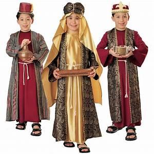 Wiseman Costume Kids Christmas Nativity Fancy Dress | eBay