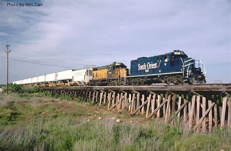 South Orient westbound - San Angelo, TX