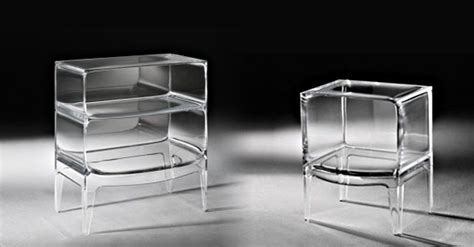 le de bureau kartell meubles transparents le objects by