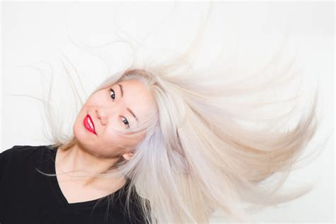 How To Dye Asian Hair Blond Popsugar Beauty