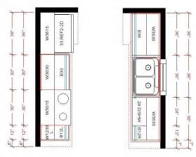 Galley Kitchen With Island Floor Plans Top Kitchen Cabinets Lay Out Afreakatheart