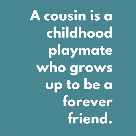 celebrate cousinship cousin quotes poems  fun ideas