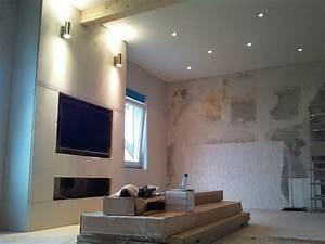 Ideen Tv Wand : arbeitsplatte grau ~ Lizthompson.info Haus und Dekorationen