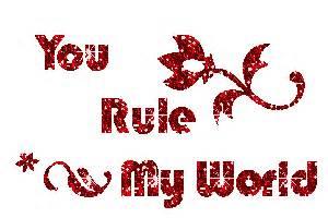 you rule my world flirty myniceprofile