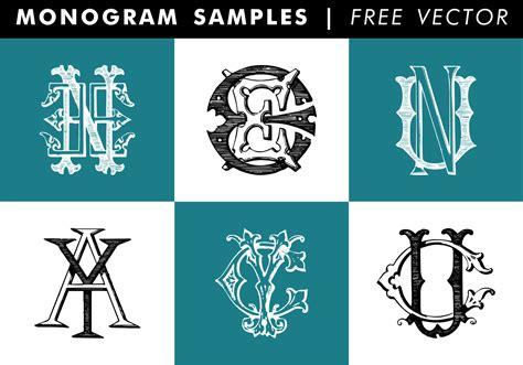 monogram samples  vector   vectors clipart graphics vector art