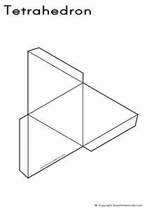 3d shape nets 3d puzzle image With geometry net templates