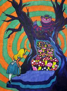 alice in wonderland psychedelic art - Google Search ...