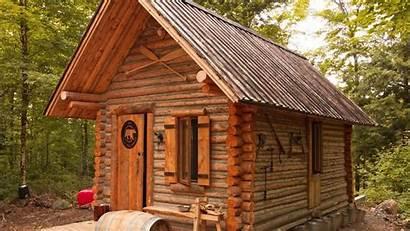 Cabin Log Build Built Diy Wilderness Canadian