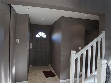 peinture couloir avec escalier d entr 233 e cage escalier peinture frehel deco morbihan loire atlantique