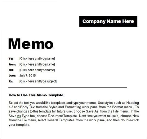 hospital memo template yahoo image search results