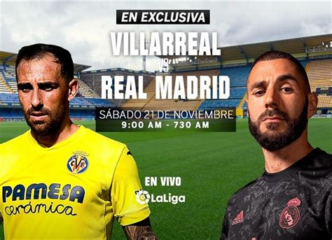 Villarreal vs Real Madrid, en vivo, LaLiga | Deportes | W ...