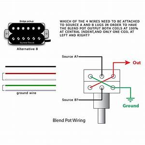 Telecaster Wiring Diagram For Blend