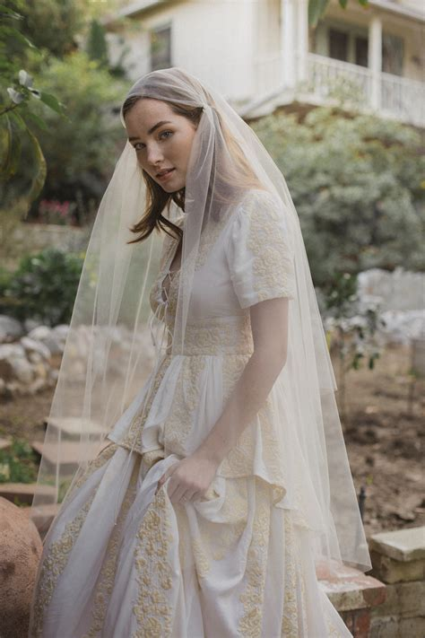 Juliet Cap Wedding Veils Bridal Veil Blusher Veil