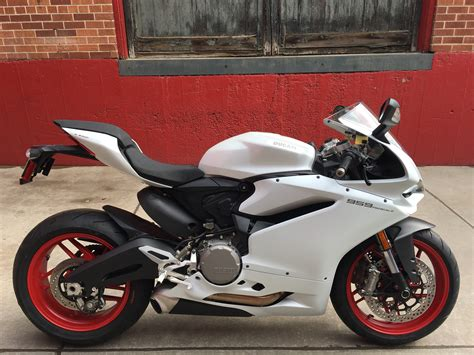 New 2019 Ducati Panigale 959 White Motorcycle In Denver
