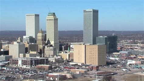 Downtown Tulsa Sees Economic Boom - YouTube