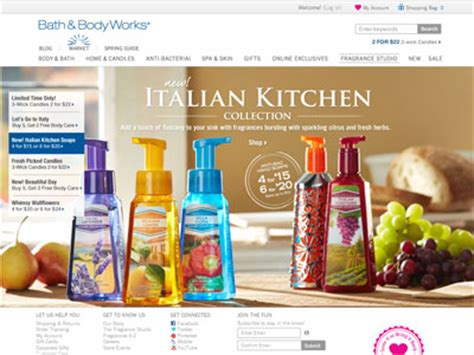 And Bath Collection Website bath works tuscany collection bath fragrance