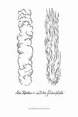 Pillar Fire Cloud Moses Craft Coloring Sunday Moises Crafts Bible Story Biblia Credit Larger Pillars Guardado Desde Google Catholic Resources sketch template