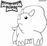 Coloring Dinosaur King Printable Dinosaurs Cartoon Sheets Bear Drawing K5worksheets Educativeprintable sketch template