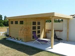 Chalet Bois Pas Cher : abri de jardin design ailante 17 stmb construction ~ Nature-et-papiers.com Idées de Décoration