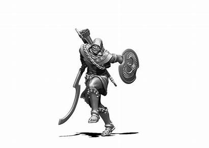 Nubian Assassin Scale Mm Khepri Figurines Miniatures