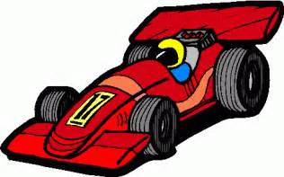 Cartoon Race Car Clip Art