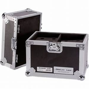Deejay Led Case For 12 Microphones With Storage Tbhmic12s