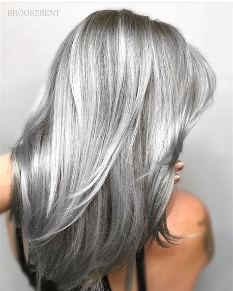 pin  fuckyouthunder  hair silver grey hair hair