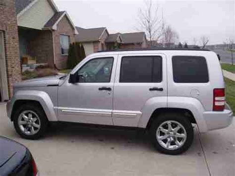 how cars engines work 2008 jeep liberty seat position control purchase used jeep liberty ltd 2008 automatic 4 wheel drive htd leather seats nav in sun