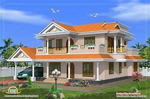 Beautiful 2 Storied House Design 2490 Sq Ft Kerala