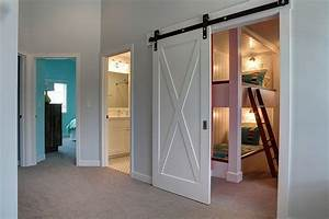 27 creative kids rooms with space savvy sliding barn doors With barn doors for interior rooms