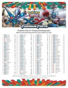 File Cardlist EN Pokemon TCG XY Furious Fists pdf