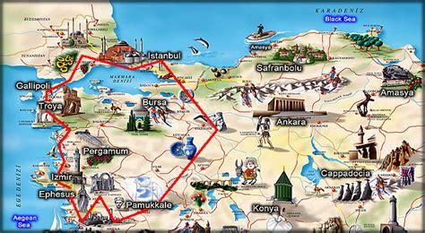 tour of gallipoli troy ephesus and pamukkale 5 day tour