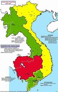 French Indochina World Map